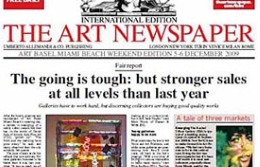 The Art Newspaper comienza a venderse en Rusia